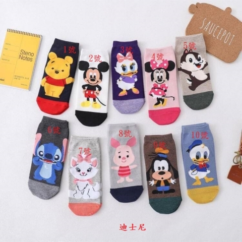 超可愛造型卡通襪
