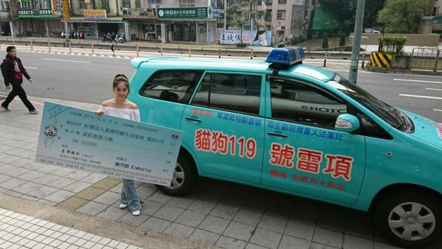 台灣之光,熱心作公益!狗年23歲捐23萬,陳芳語助殘障流浪貓狗