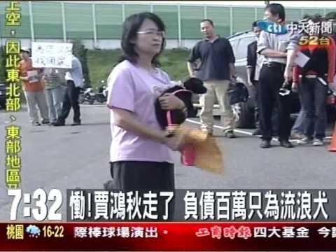 愛狗女賈鴻秋教師摔死、150犬狗場斷糧 ( 照生會 貓狗 119 )
