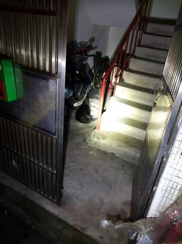2019年5月7日緊急救援無人協助車禍狗