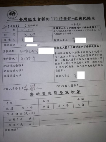 107年01月27日 新竹湖口車禍狗